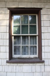 Helmcken House window