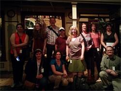Period Rooms course participants 2014